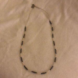 Silpada tiny silver & beaded necklace
